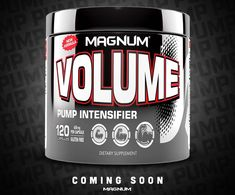 Magnum Volume Reformulated Coming Soon! Pre Workout Supplement, Bodybuilding Supplements, Coming Soon, Healing, Room Ideas