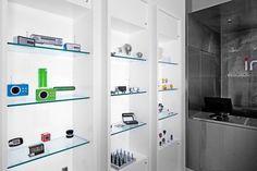 Inkanta design store by NC-office, Miami Beach Visual Merchandising, Product Display, Branding, Design Furniture, Stores, Miami Beach, Bathroom Medicine Cabinet, Locker Storage, Retail