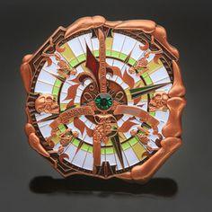 Antique Copper High Seas Adventure Geocoin - Geocaching