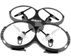 UDI U818A 2.4GHz 4 CH 6 Axis Gyro RC Quadcopter with Camera RTF Mode 2