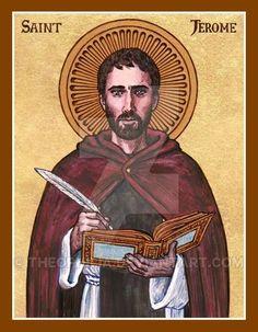 St. Jerome icon by Theophilia.deviantart.com on @DeviantArt