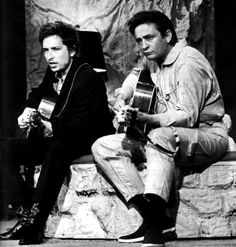 Bob Dylan with Johnny Cash