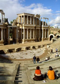 Show must go on (Roman theatre of Merida) Merida, Spain Copyright: Miguel Parra Jimenez