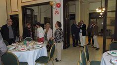 """Compartimos imágenes de lo que fue la plenaria anual del cambio de autoridades del C.A.S. Intermedio """"Fortín Machado"""" de Tres arroyos, donde además celebraron su 8º aniversario."""