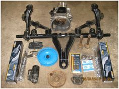 Trike rear end kit