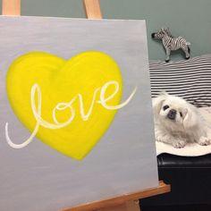 L.O.V.E With my lovely dog Pekingese