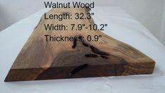 Walnut Slab, Wood Slab, Wood Planks, Wood Sticks Crafts, Wood Crafts, Home Decor Sets, Live Edge Wood, Wood Tree, Wood Pieces