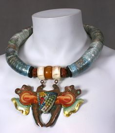 """Alex & Lee """"Art to Wear"""" Collar 