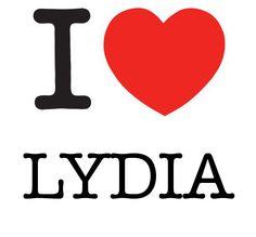 I Heart Lydia #love #heart