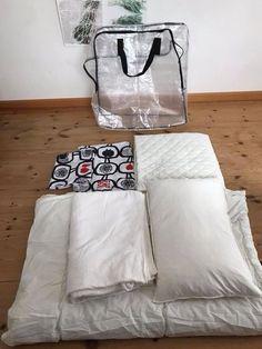 出し入れのストレスが大幅減!「IKEA」の収納バッグ1枚に寝具6点がナイスイン