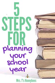 5 Steps for Planning Your School Year & From our Homeschooling Home to Yours Educational Activities For Kids, Autism Activities, Homeschool Curriculum, Homeschooling Resources, Raising Godly Children, School Plan, Christian Parenting, First Day Of School, Mom Blogs