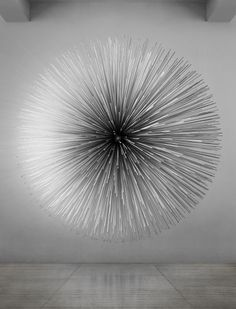 Kim Byoung Ho, Soft Crash, 2011, aluminum, piezo, arduino, 330x330x165cm, 2011 Korean Contemporary Art at Saatchi Gallery | ATELIER