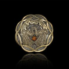Norse raven brooch