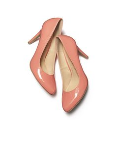 The perfect patent leather Pink Dress Heels by LC Lauren Conrad for Kohl's.