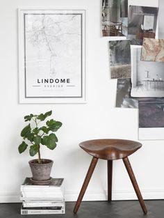 Ontwerp je eigen minimalistische landkaart
