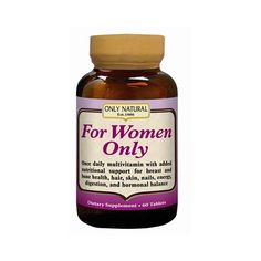 Wholesale Only Natural For Women  60 Tablets Health Supplements Vitamins >>> Visit the image link more details.  This link participates in Amazon Service LLC Associates Program, a program designed to let participant earn advertising fees by advertising and linking to Amazon.com.