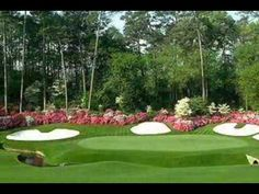 Masters Golf Tournament...ok so we never played, but Andy has been there during the practice rounds!  His FAV!