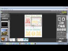 My Digital Studio for Card Making