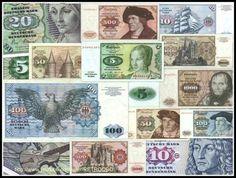 Die ehemaligen Währung der Bundesrepublik Deutschland