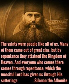 Orthodox Christian St Silouan the Athonite Catholic Quotes, Religious Quotes, Religious Art, Christian Faith, Christian Quotes, Spiritual Wisdom, Spiritual Warfare, Catholic Saints, Roman Catholic