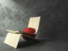 Lownge chaise lounge by Gradosei