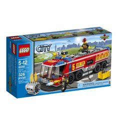 LEGO City Great Vehicles 60061 Airport Fire Truck LEGO http://www.amazon.com/dp/B00GSPFC3Q/ref=cm_sw_r_pi_dp_aK06vb1H67X8F