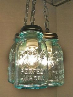 more mason jar lights by sarahx