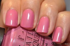 OPI Japanese Rose Garden --- think this is such a sweet color for the Spring or Summer months!