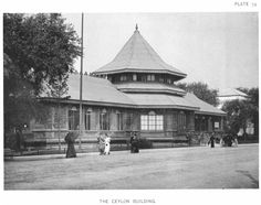 The Ceylon Building at the World's Columbian Exposition (also known as the Chicago World's Fair), Daniel Burnham World's Columbian Exposition, White City, Christopher Columbus, World's Fair, Acre, Louvre, Chicago, Daniel Burnham, Country