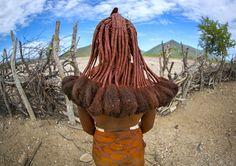https://flic.kr/p/ngva77   Himba Woman Hairstyle, Epupa, Namibia   © Eric Lafforgue www.ericlafforgue.com