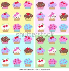 Cupcake Vector Free Stock Photos, Images, & Pictures   Shutterstock