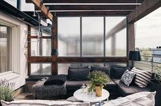 fabulous rooftop terrace-Ostermalm Apartment-03-1 Kindesign