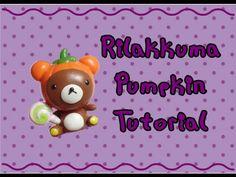 rilakkuma with pumpkin costume clay tutorial halloween crafts youtube - Youtube Halloween Crafts