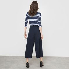 Breton Top with 3/4 Sleeves