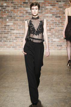 Maiyet Fall 2016 Ready-to-Wear Fashion Show - Anna Cleveland