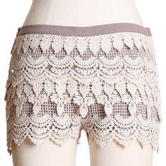 How adorable are these!  I'd love to wear them with some colored tights and dark cami.