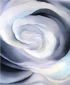 Abstraction White Rose - Georgia O'Keeffe