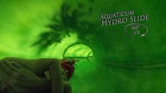 Aquaticum Hydro Slide (Green) 360° VR POV Onirde Vr, Green, Movie Posters, Film Poster, Billboard, Film Posters