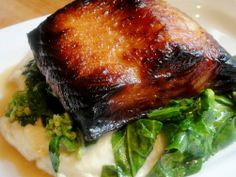 Grilled Black Cod with Fried Garlic and Chiles | Recipe | Fried Garlic ...