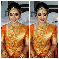 Indian Wedding Wear, Indian Wedding Hairstyles, Saree Wedding, Wedding Bride, Dream Wedding, Indian Bridal Makeup, Bridal Hair And Makeup, Mens Fashion Blazer, Women's Fashion