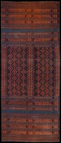 Ikat from Ende, Flores Group, Indonesia