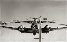 Formación de Henkel 111, Rusia 1943.