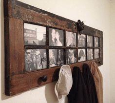 Hallway mantel