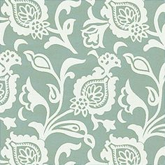 BOLTON, Aqua, W8449, Collection Courtyard from Thibaut