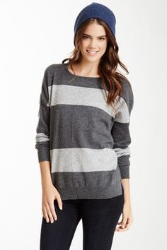 Striped Cashmere Pullover