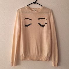 Forever 21 rabbit hair sweater Worn a handful of times, in gentle used condition. Nylon and rabbit hair sweater. Forever 21 Tops