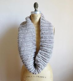 Chunky Wool Circle Scarf | Women's Bags & Accessories | Thread & Paper | Scoutmob Shoppe | Product Detail