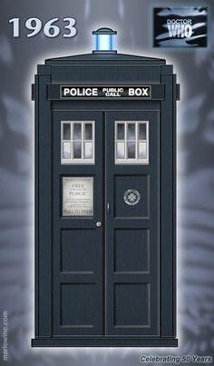 Bonus image! A recently stolen TT Type 40 TARDIS. Its chameleon circuit has just gone faulty.