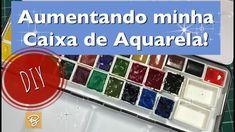 Aumentando minha caixa de Aquarela - DIY - Estúdio Brigit