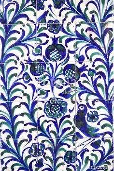 Buy Fajalauza tile glazed ceramic, Granada by jg_aunion on PhotoDune. Fajalauza tile glazed wall, originally developed in Granada Albaicin District, Spain Ceramic Wall Art, Ceramic Pottery, Ceramic Clay, Sketches Of Spain, Glazed Walls, Spanish Tile, Blue Colour Palette, Grenade, Moorish